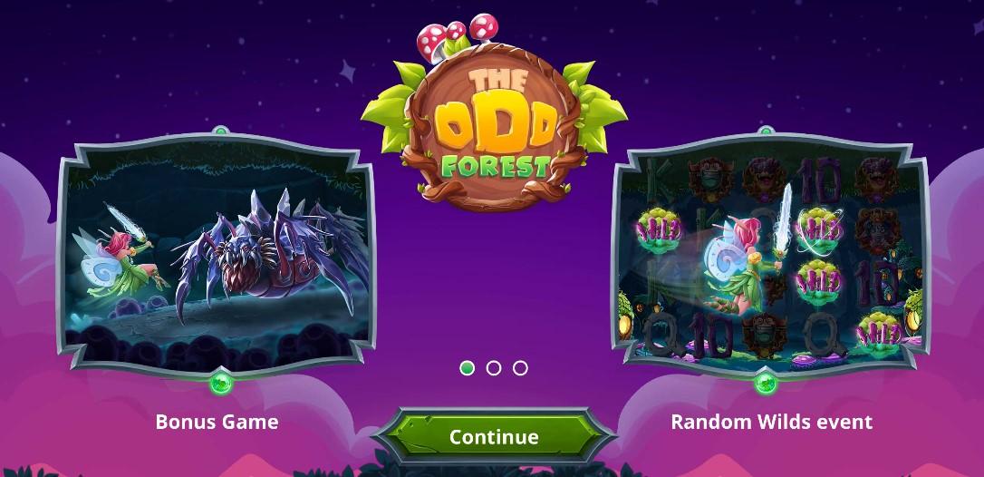 Игровой автомат The Odd Forest