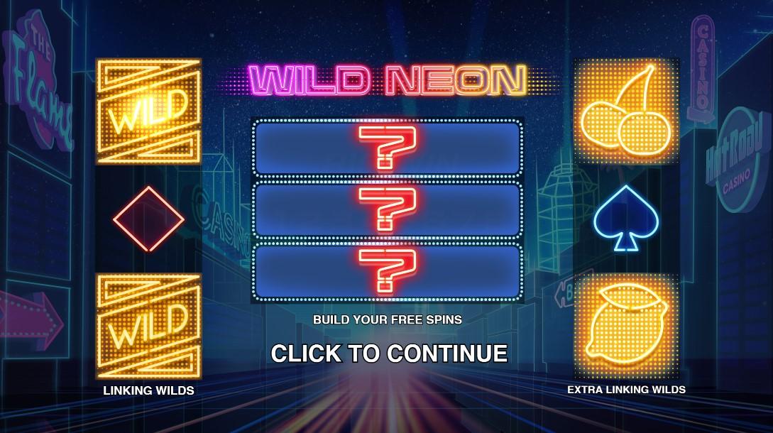 Играть Wild Neon