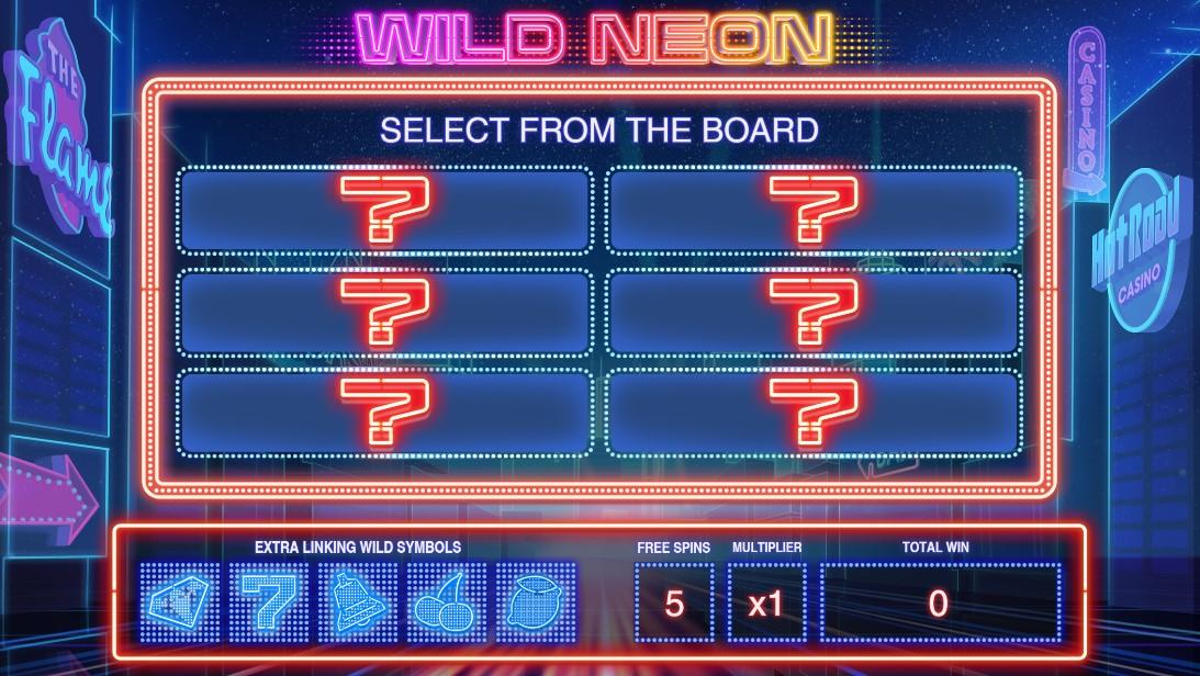 Слот Wild Neon