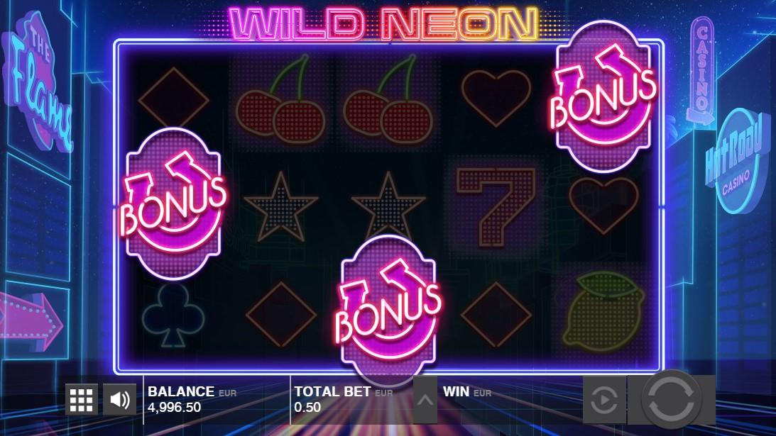 Игровой автомат Wild Neon