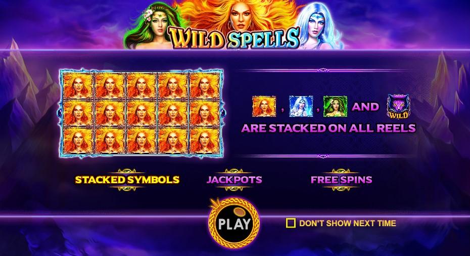 Игровой автомат Wild Spells