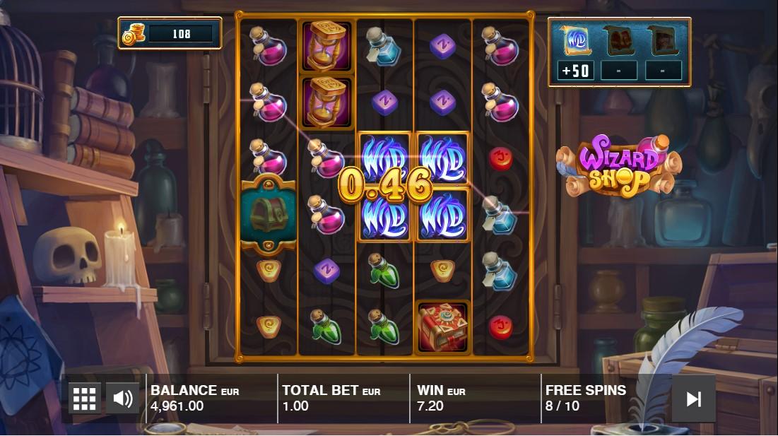 Wizard Shop онлайн слот