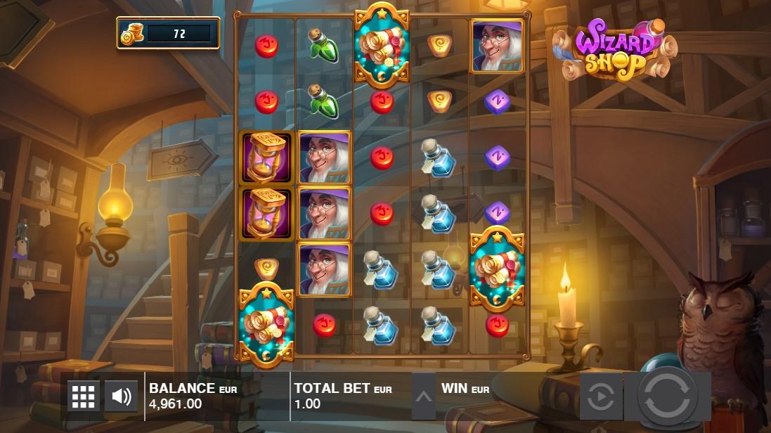 Играть онлайн Wizard Shop