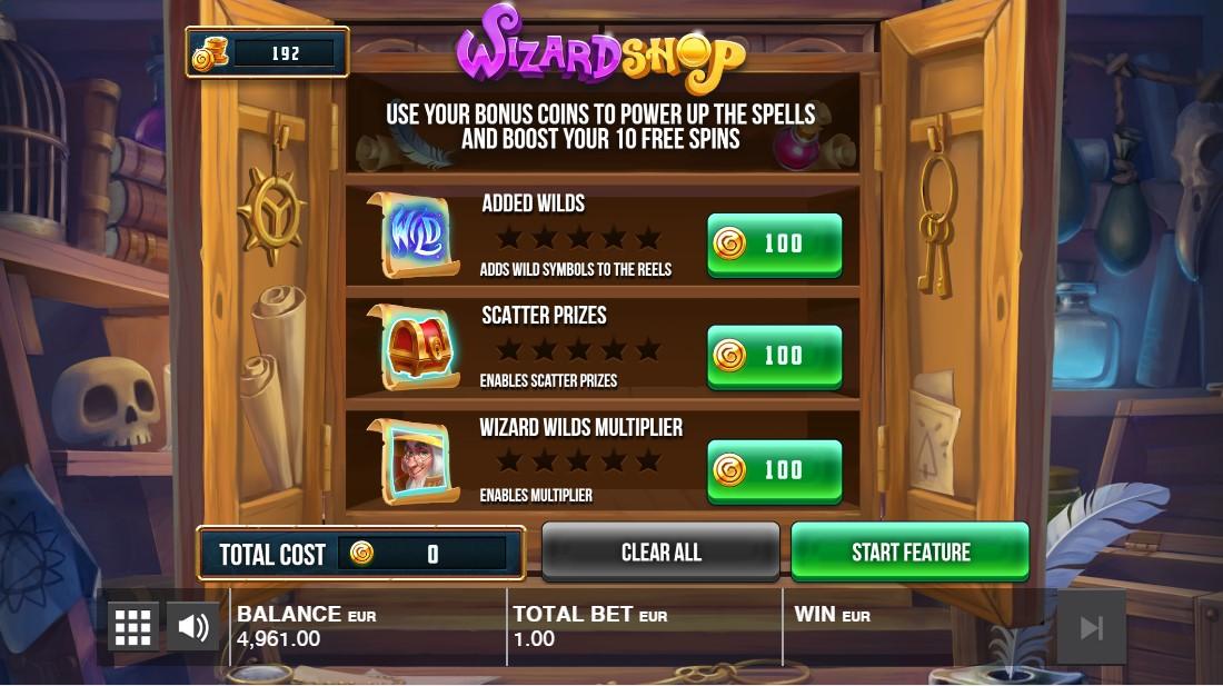 Wizard Shop игровой автомат