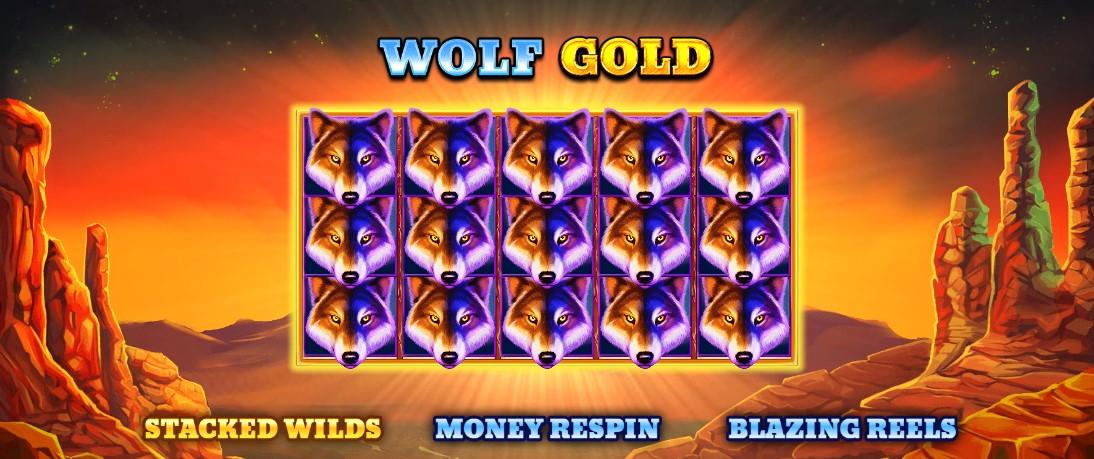 Игровой автомат Золото волка