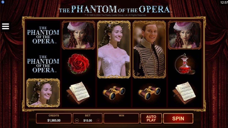 Играть игровой автомат призрак оперы реальные игровые автоматы