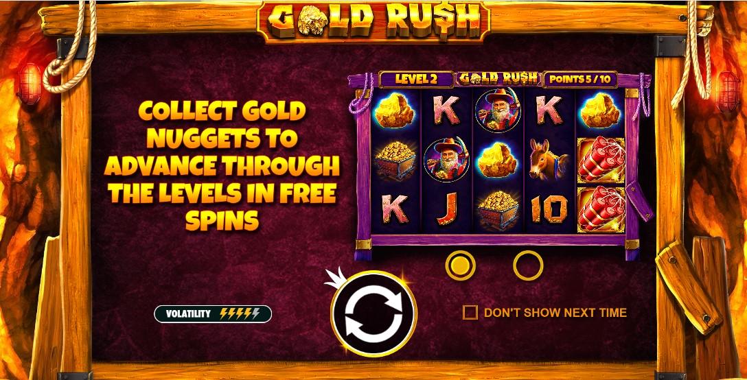 Игровой автомат Gold Rush™