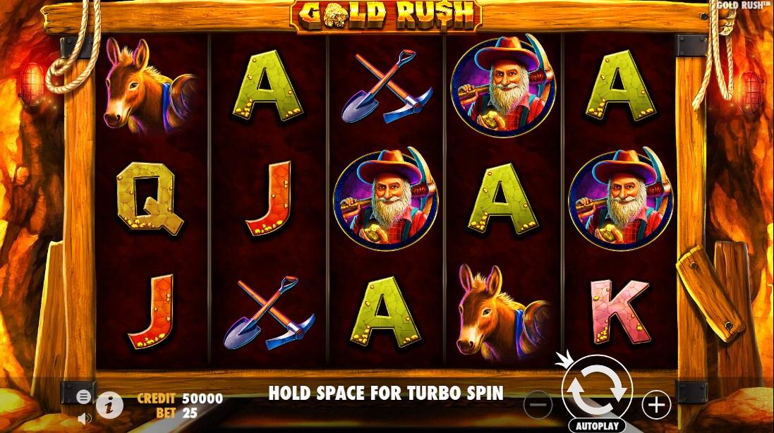 Играть бесплатно Gold Rush
