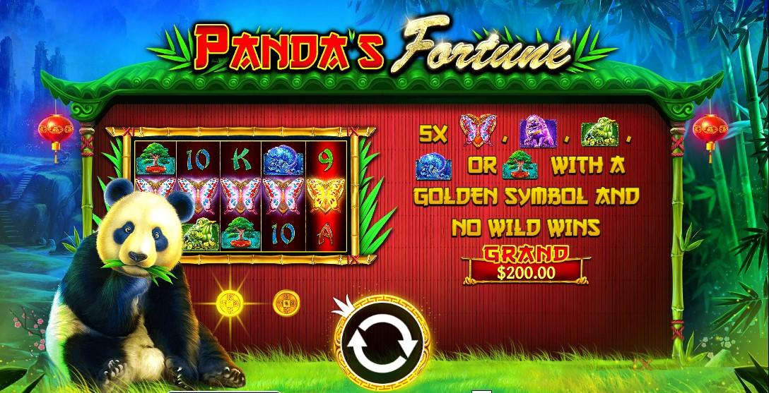 Игровой автомат Panda's Fortune™