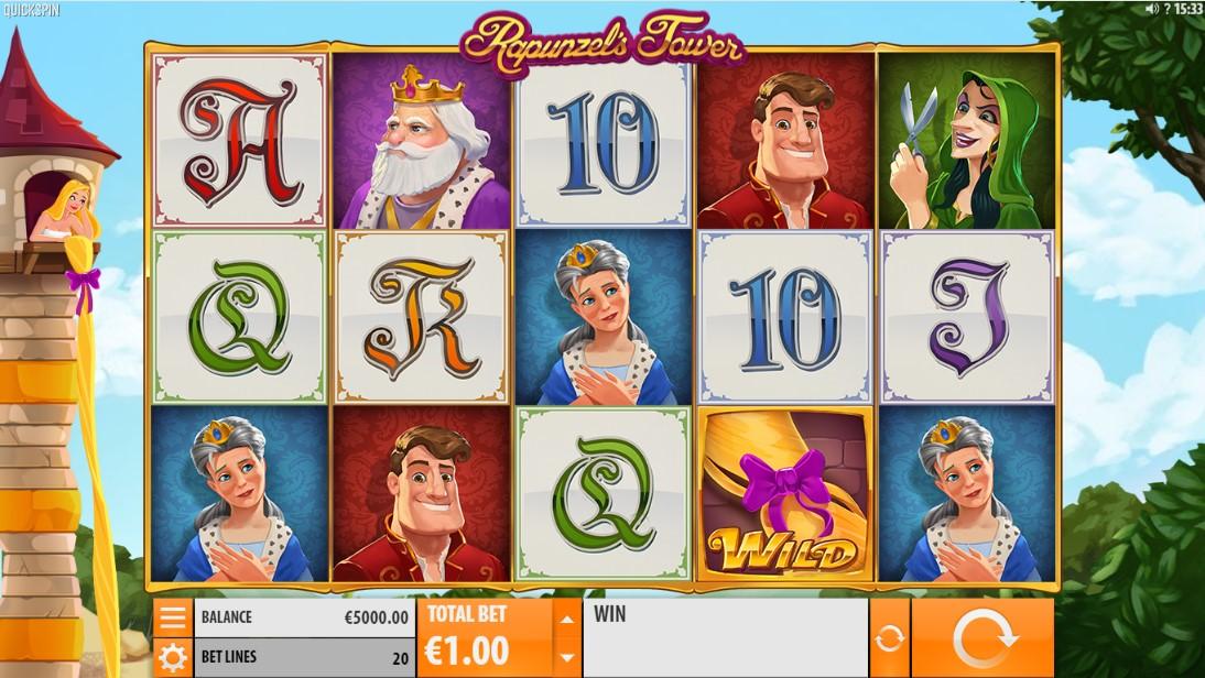 Rapunzel's Tower играть бесплатно