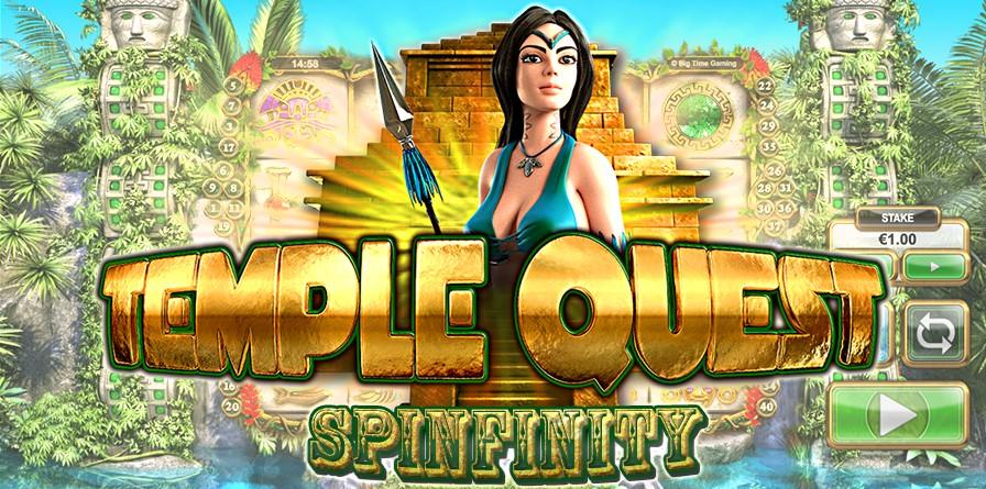 Игровой автомат Temple Quest Spinfinity