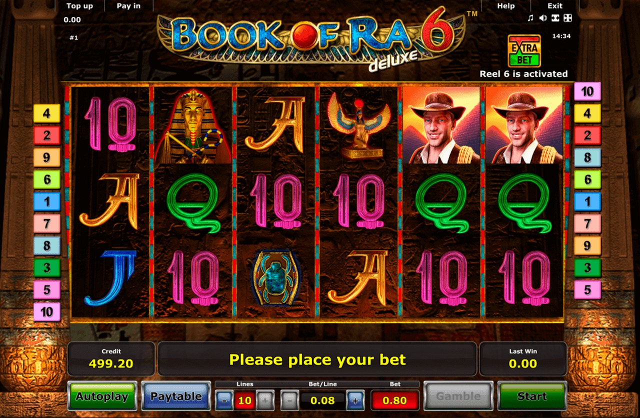 Book of ra slot gratis