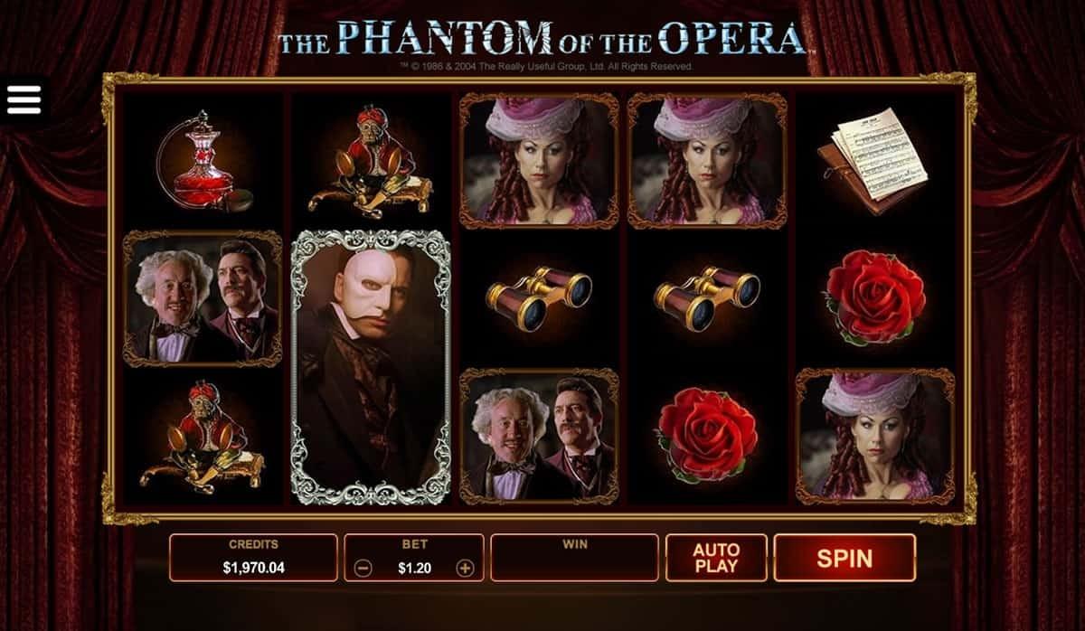 играть игровой автомат призрак оперы