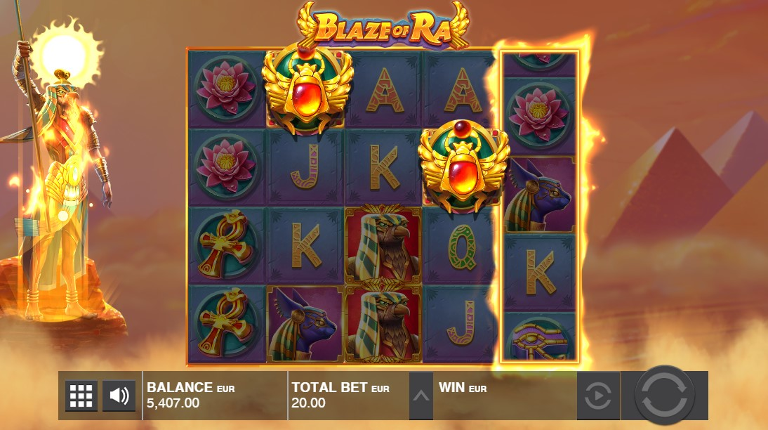 Blaze of Ra игровой автомат