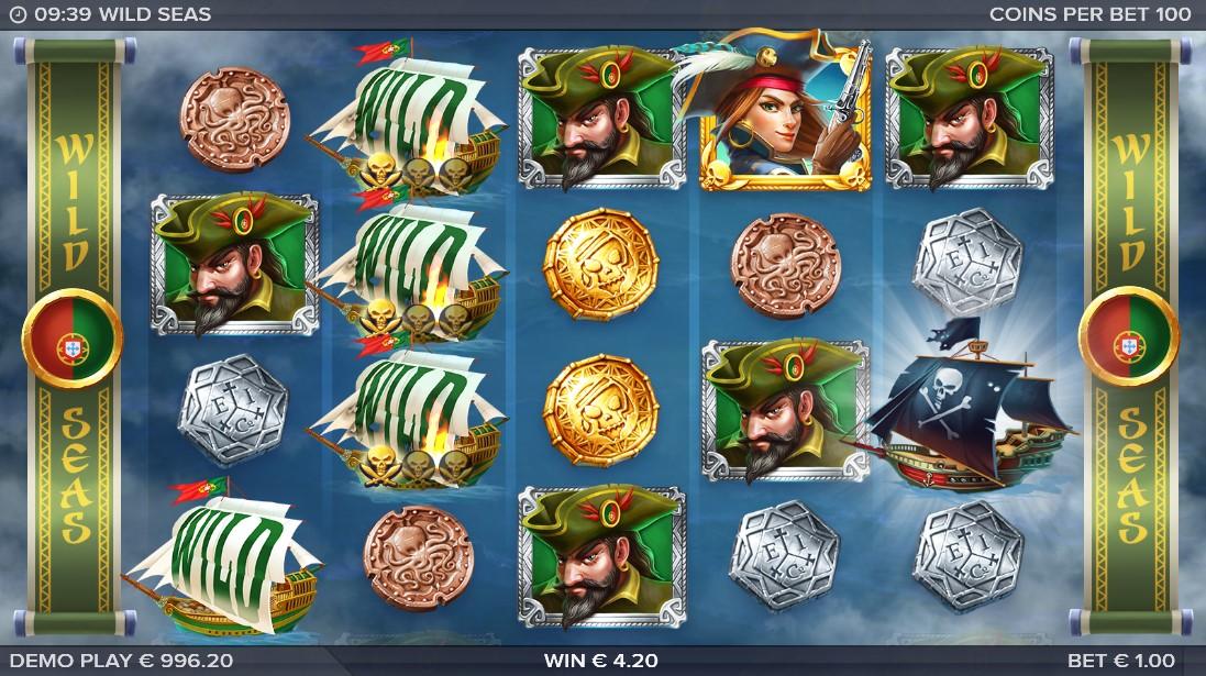 Wild Seas бесплатный игровой автомат