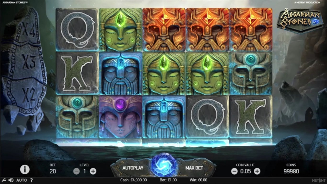 Игровой автомат asgardian stones онлайн бесплатно