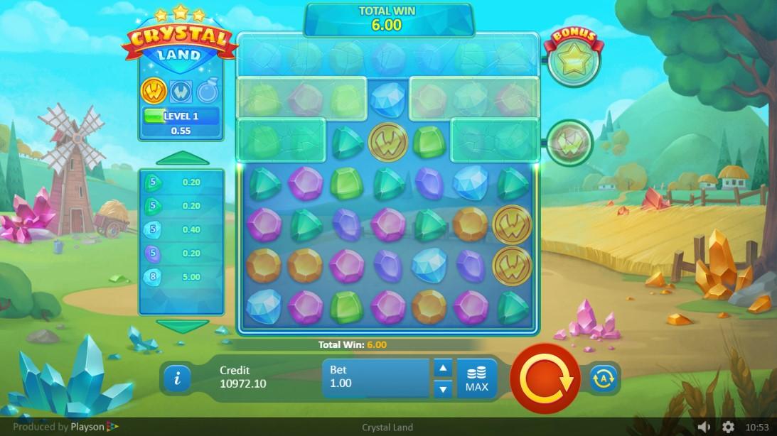 Crystal Land онлайн слот