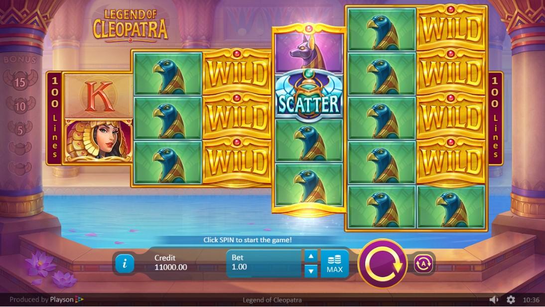 Слот Legend of Cleopatra играть