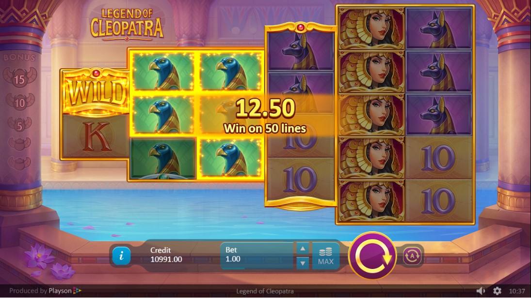 Играть бесплатно Legend of Cleopatra