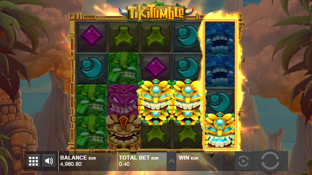 Tiki Tumble играть бесплатно