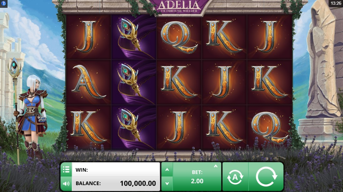 Слот Adelia The Fortune Wielder играть