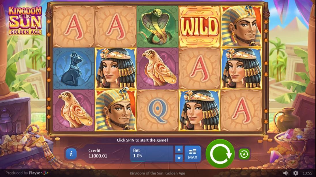 Kingdom of the Sun – Golden Age играть онлайн