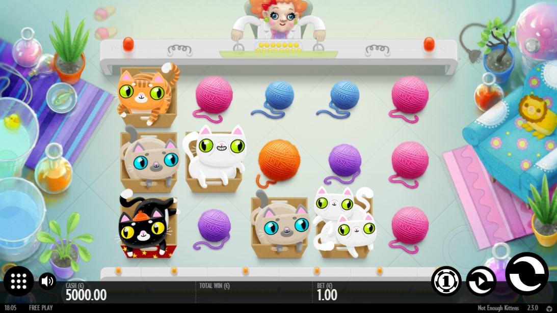 Not Enough Kittens игровой автомат