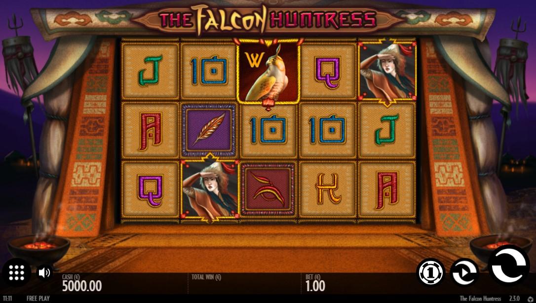 The Falcon Huntress игровой автомат