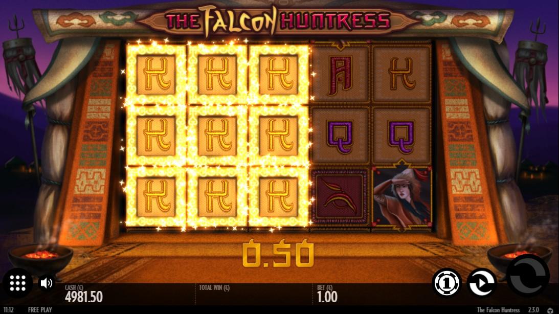 Слот The Falcon Huntress играть