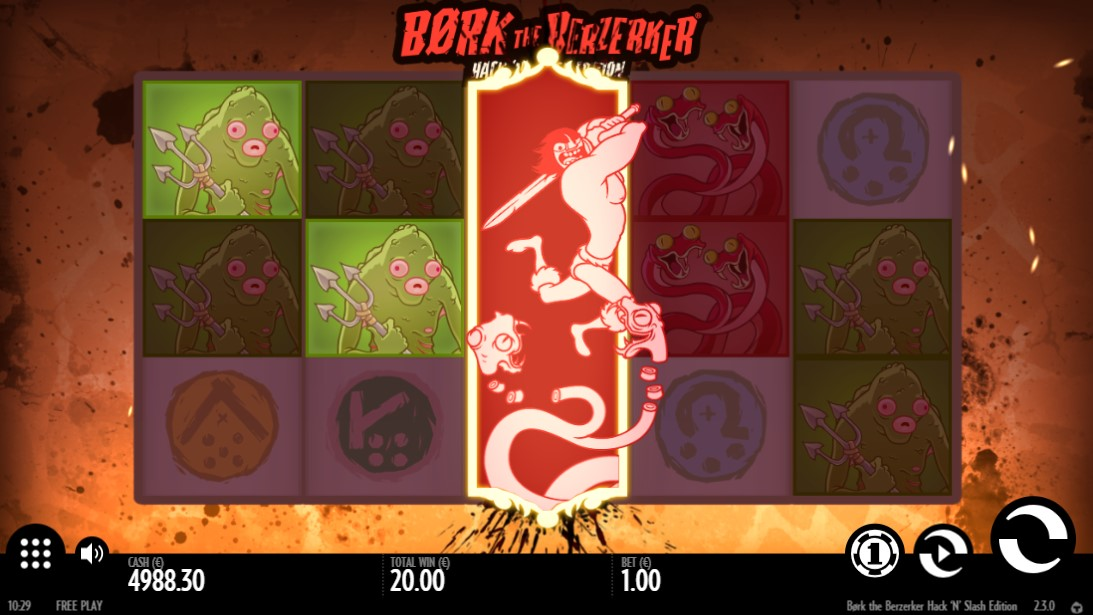 Игровой автомат Børk the Berzerker Hack 'N' Slash Edition