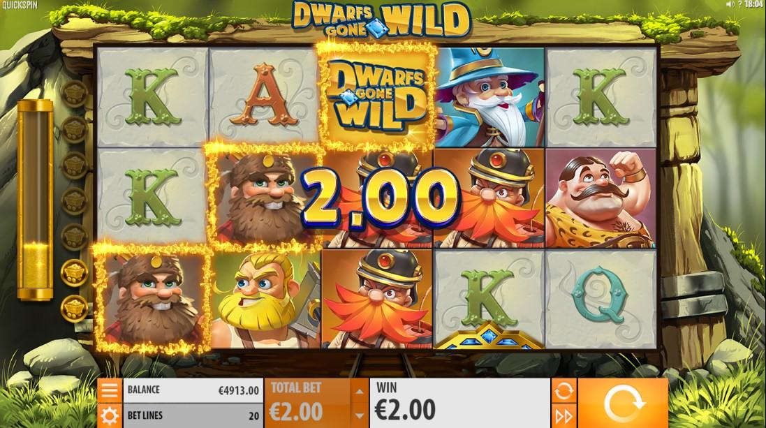 Играть бесплатно Dwarfs Gone Wild