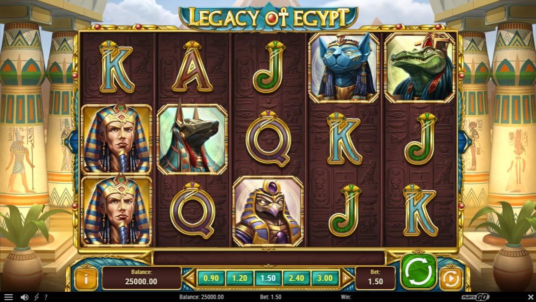 Играть бесплатно Legacy of Egypt