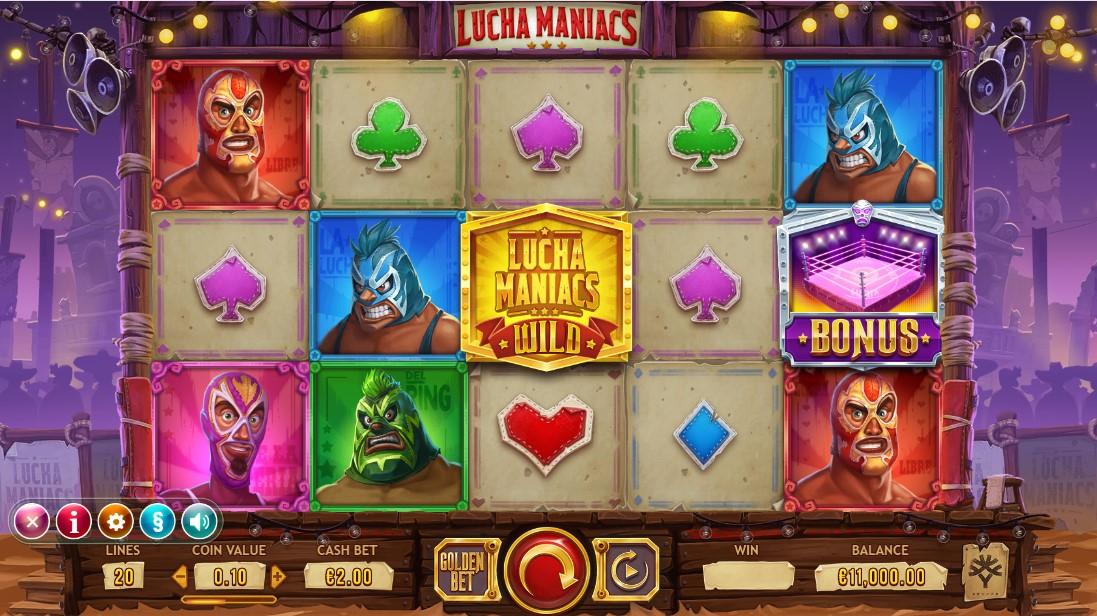 Играть бесплатно Lucha Maniacs