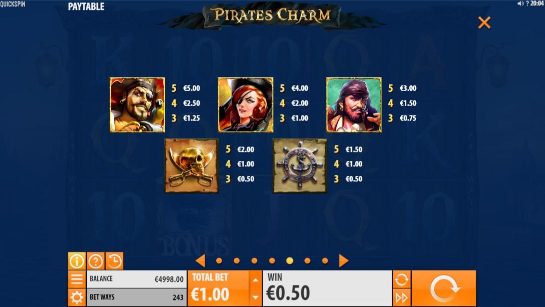 Слот Pirate's Charm играть