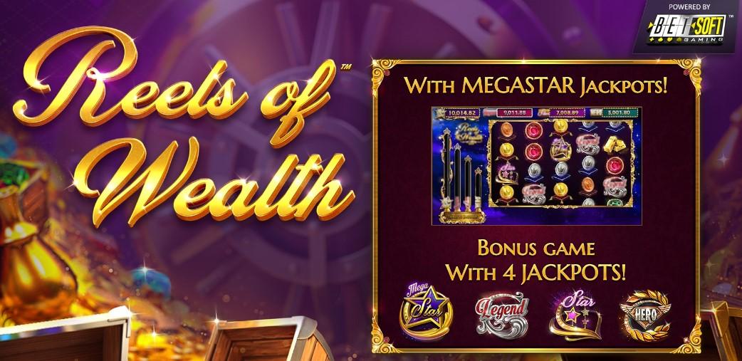 Играть Reels of Wealth бесплано