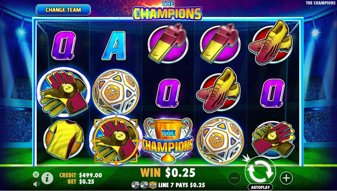 Игровой автомат The Champions