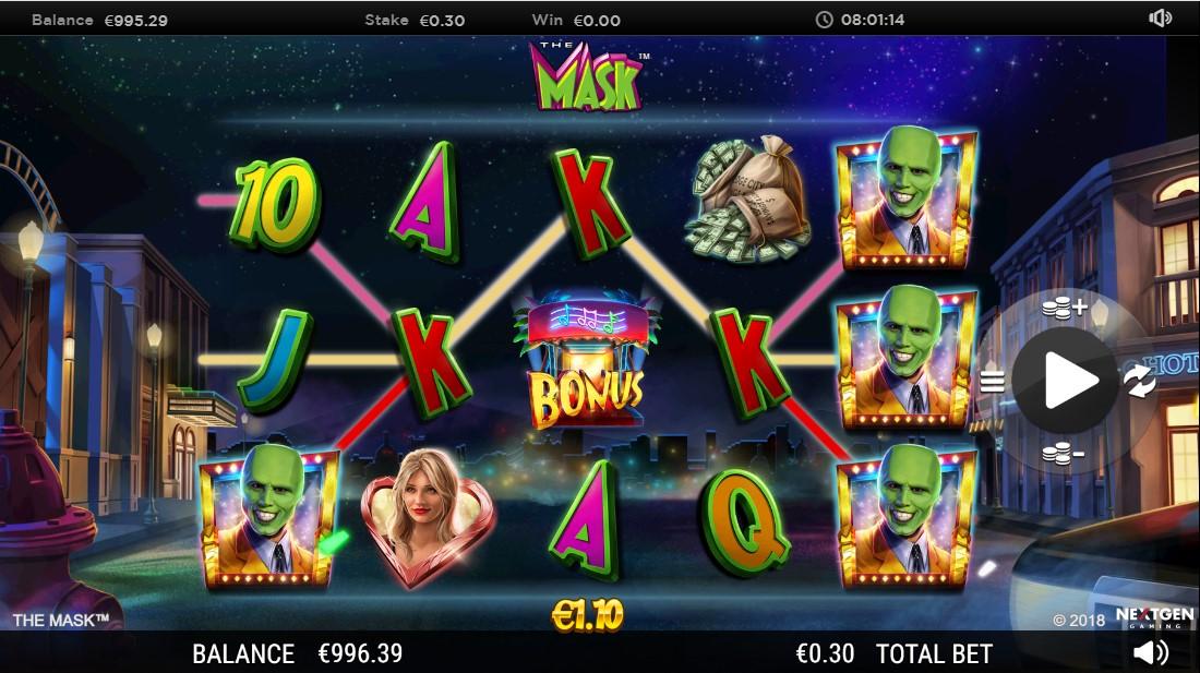 Игровой автомат The Mask