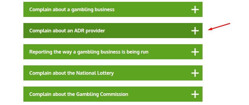 пожаловаться на онлайн казино