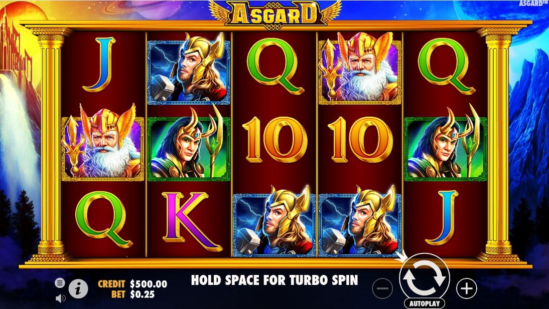 Asgard играть бесплатно
