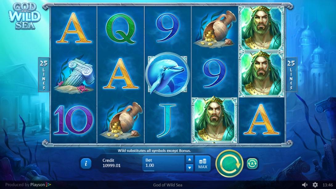 God of Wild Sea играть онлайн