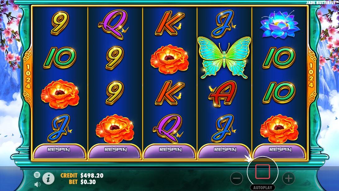 Слот Jade Butterfly играть