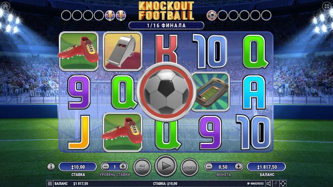 Бесплатный слот Knockout Football