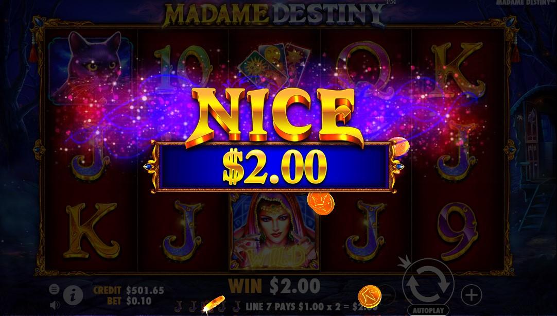Игровой автомат Madame Destiny
