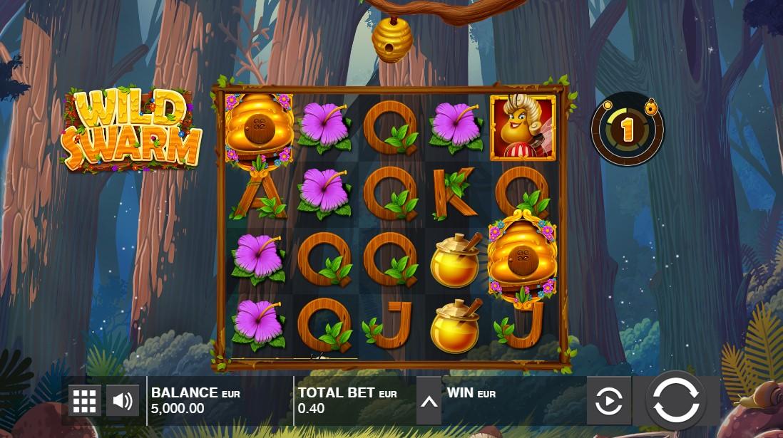 Игровой автомат Wild Swarm