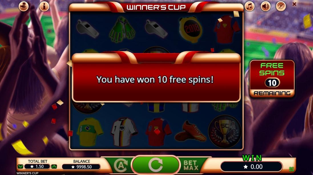 Слот Winner's Cup играть