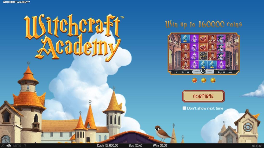 Играть бесплатно Witchcraft Academy