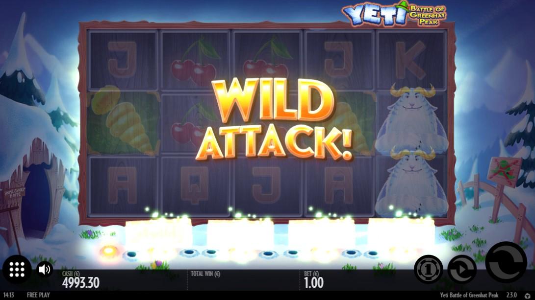 Игровой автомат Yeti Battle of Greenhat Peak