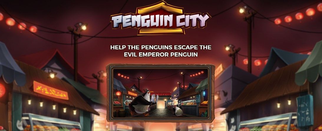 Играть Penguin City бесплатно
