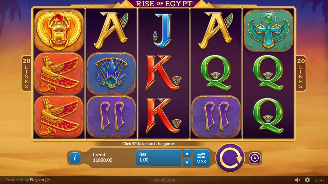 Игровой автомат Rise of Egypt