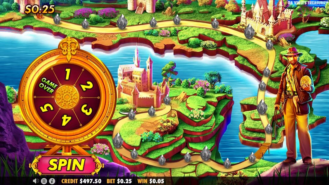Слот Da Vinci's Treasure играть